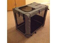Fabric Dog Crate