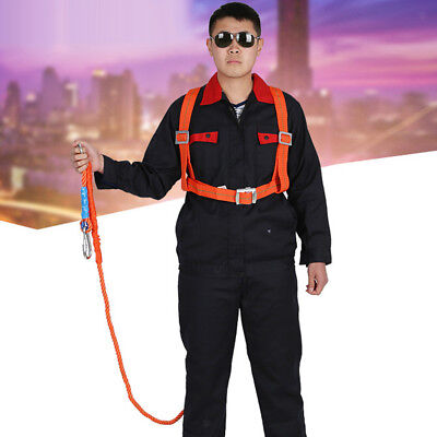 3 Meter Safety Harness Fall Protection Strong Firm Wear Resistant 100kg