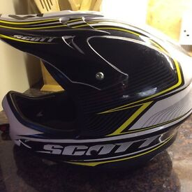 Scott Full face cycle helmet. Spartan. Used but in great condition.