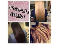 Hairdresser/hair extension specialist
