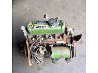 BMC Austin A35 engine. For spares or rebuild. Removed from van 35 years ago.