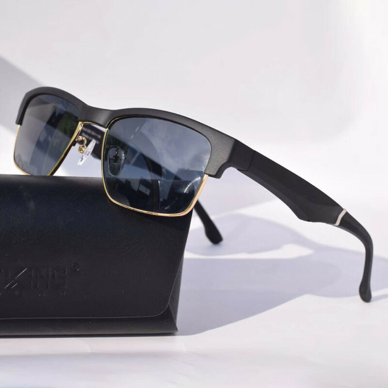 Multifunctional K2 Smart Headset Glasses Business Blu-ray Sunglasses  - Black