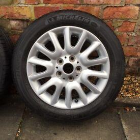 Genuine Mini Cooper Wheels with Tyres
