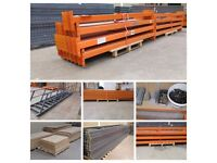 Pallet Racking for Sale: 6m High 90cm deep Storax SP80 / Dexion P90 & MK3 and lots of Beams