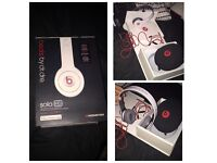White Solo HD Beats by Dr.Dre