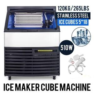 240 LB ICE CUBE MACHINE - NEW - FREE SHIPPING