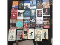 Books - mostly fiction and classics