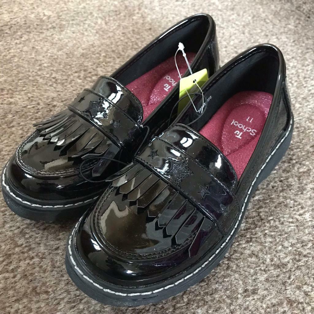 BRAND NEW - TU Girls school shoes SIZE