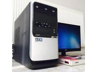 Full Wireless Desktop PC Package