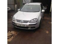 2005 VW Golf 1.9 TDI Diesel, Manual, Hatchback, Spares or repairs (Volkswagen)