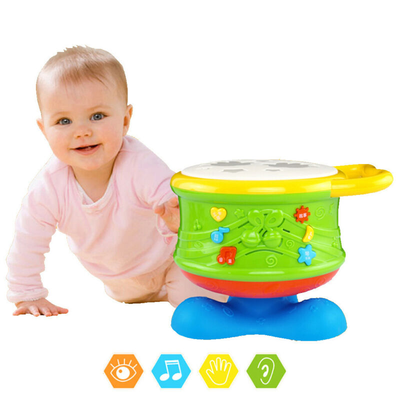 Baby Musical Drum Toys Learning Educational Toy For Toddler