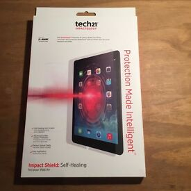 AUTHENTIC TECH21 IPAD AIR IMPACT SHIELD SCREEN PROTECTOR WITH SELF HEAL FOR I PAD AIR 2