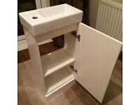 Vanity unit / sink for cloakroom