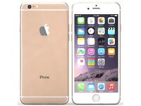 Iphone 6 in gold EE/orange BT virgin mobile