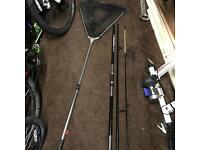 Sea fishing rod and tackle