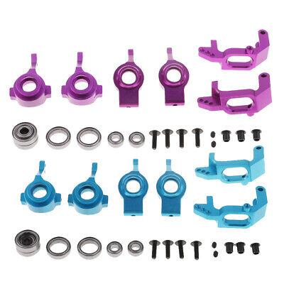 Car Parts - 1/10 Aluminum Steering  Hub Mount Upgrade Parts For HSP Redcat RC Car