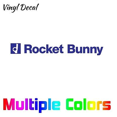 Rocket Bunny Decal | Windshield Banner Sticker Wide Body 7