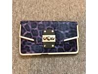 River Island clutch handbag
