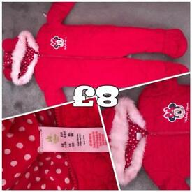 Baby Snowsuits from 3 to 12 months