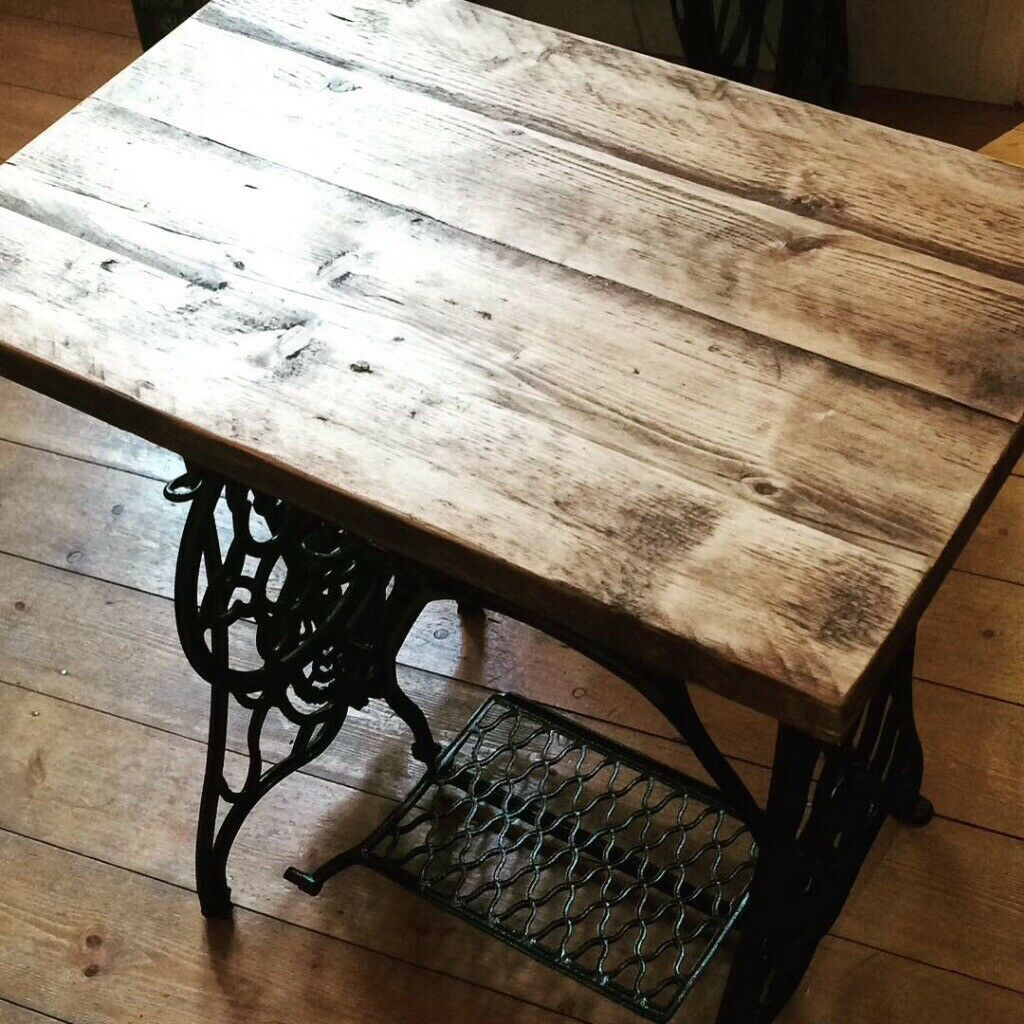 Phenomenal Stunning Antique Sewing Machine Table Restored Hand Made Solid Top In Hull East Yorkshire Gumtree Download Free Architecture Designs Xaembritishbridgeorg