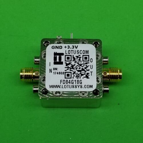 Frequency Divider/Prescaler Divide by 8 (4G to 18 GHz)