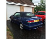 52 Saab Turbo Convertible 63k full hist, full mot, may px swap