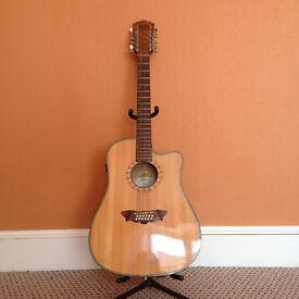 Washburn 12-String Acoustic Guitar *Needs Repair*