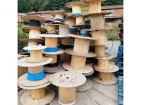 FREE CABLE REELS - ply - perfect for coffee tables, table, sideboard, displays, cafe, exhibition