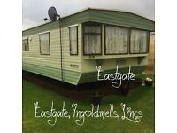 Eastagate Holiday park: FANTASY ISLAND, Ingoldmells: 2-bed static caravan for holiday lets