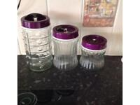"""Set of 3 containers. """"Reduced"""""""