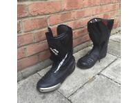 Motorcycle boots Mens hein gericke