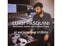 Luigi Pasquini - Recording and Mixing at Anchor Lane Studios