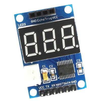 5v Ultrasonic Distance Range Module Distance Measuring Transducer Sensor
