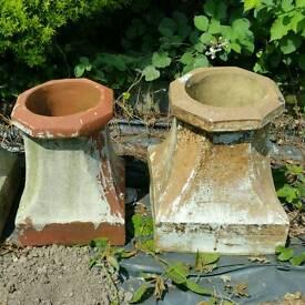 Victorian Chimney Pot Plant Pot (£30 each)