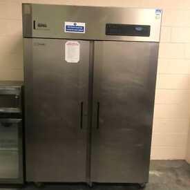 Commercial double door foster fridge stainless steel catering restaurant hotels pubs equipments
