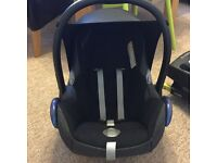 Maxi Cosi Cabriofix with Easifix to fit to isofix