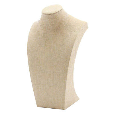 Simple Elegant Necklace Pendant Display Bust Stand Mannequin 1220cm