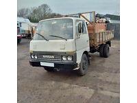 Left hand drive Nissan Cabstar BH40 3.3 diesel 6 tyres 3.5 Ton truck