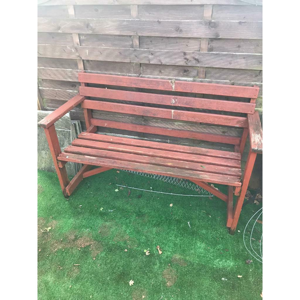 Wondrous Old Bench Available Due To Time Wasters In Pontprennau Cardiff Gumtree Cjindustries Chair Design For Home Cjindustriesco
