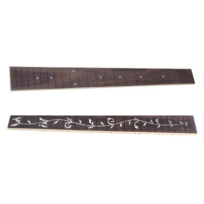 2x Guitar Neck Fretboard Wooden for Acoustic Folk Guitar Parts Replacement
