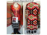 Ladies Ready Made Shalwar Trouser Kameez Dupatta Dress