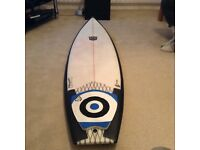 "6'2"" ND surfboards Day Mateo 32 litres"