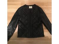 Girls Black Jacket from Zara - Age 13/ 14 - Good As New