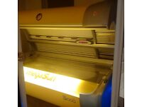 SUNBED MEGA SUN & LUXURA - STAND UP & LIE DOWN. COMMERCIAL -TANNING SALON