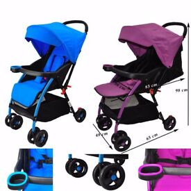 Lightweight Baby Infant Stroller Pram Pushchair Buggy