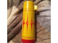 Vintage flask camping camper picnic