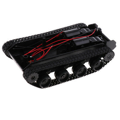Shock Absorbed Rc Smart Robot Tank Chassis Kit Track Crawler Wstrong Motor