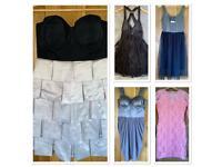 BNWT 5 X Lipsy, River Island, TopShop Dresses Bundle / Joblot UK 10 / 12 EUR 38