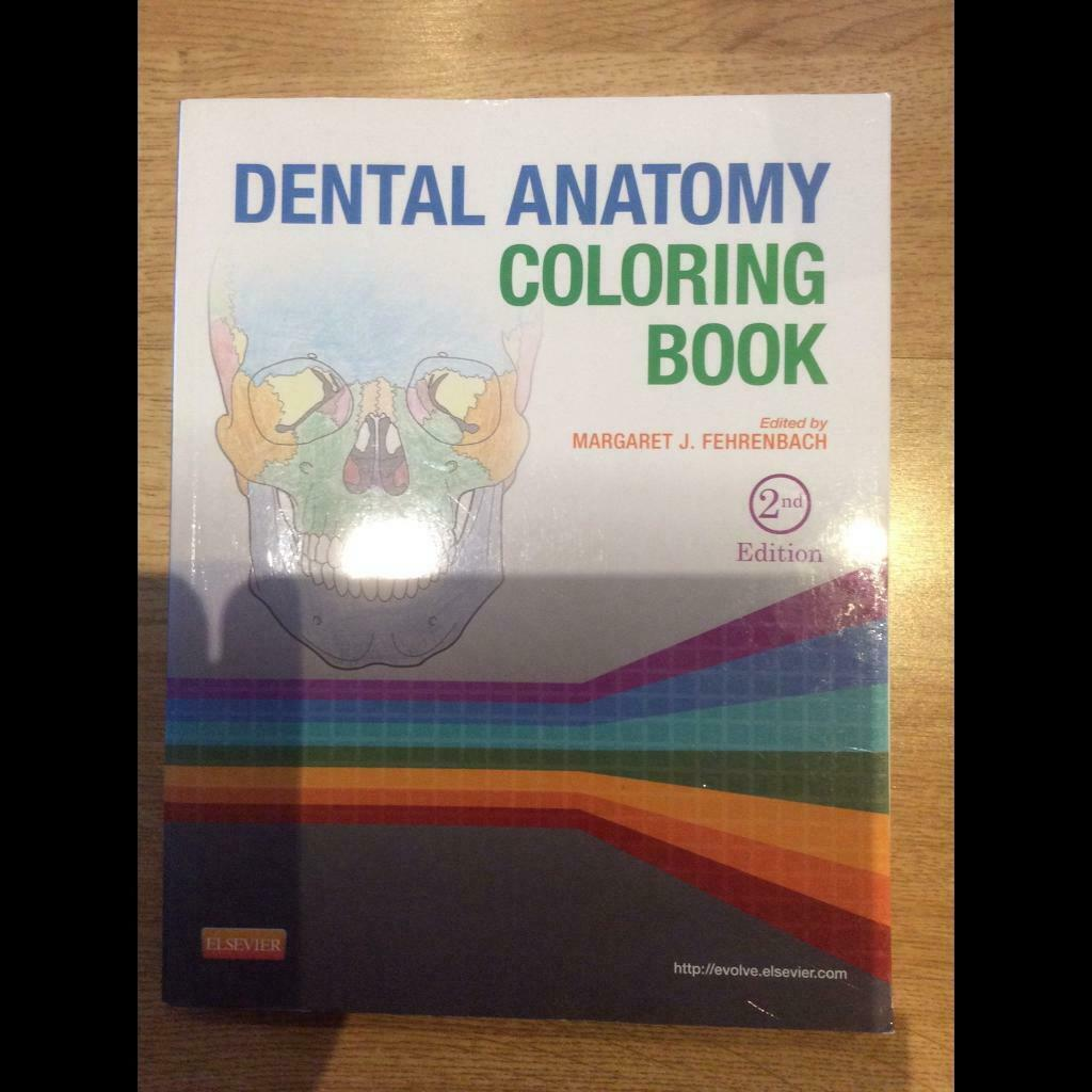 Dental Anatomy Colouring Book | in Southside, Glasgow | Gumtree