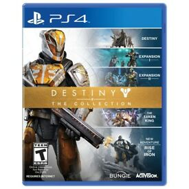 Brand New Sealed Destiny: The Collection PS4 Game Includes ALL DLC